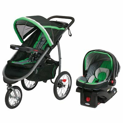 Graco FastAction Fold Jogger Click Connect Travel System | FERN | BRANDNEW