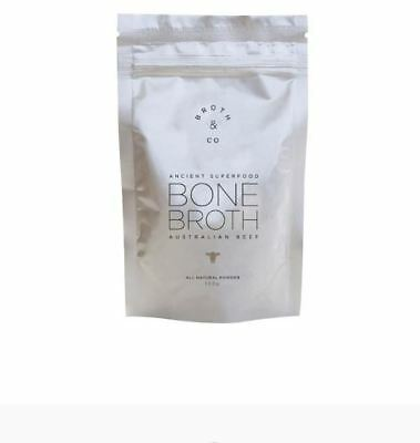 4BROTH & CO Australian Beef Bone Broth Powder Pouch 100g