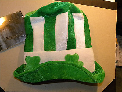 St Patricks Day Giant Leprechaun Costume Party Jumbo Stovepipe Hat Dr Suess NWT