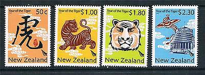 New Zealand 2010 Year of the Tiger 4v SG 3187/90 MNH