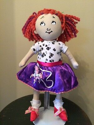 Fancy Nancy Plush Doll Sold By Toys R Us/Madame Alexander 15""