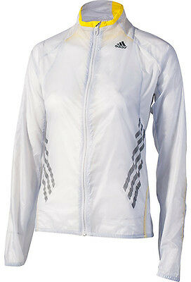 Adidas Adizero Climaproof Ladies Running Jacket - Clear