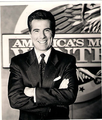 Publicity Photo for John Walsh - America's most Wanted Logo Arms Crossed Smile