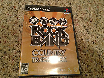 Rock Band: Country Track Pack Sony PlayStation 2 NEW PS2