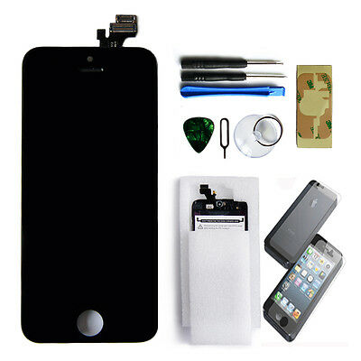 Replacement LCD Screen Touch Digitizer Display Glass Assembly for iPhone 5 Black
