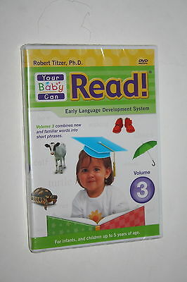 YOUR BABY CAN READ EARLY LANGUAGE DEVELOPMENT SYSTEM VOLUME 3  Brand New
