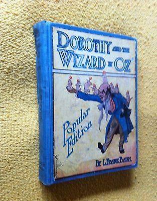 DOROTHY AND THE WIZARD IN OZ Popular Edition L. Frank  Baum ACCEPTABLE CONDITION