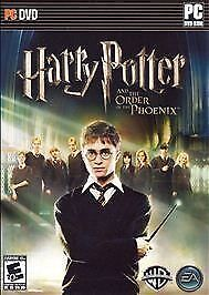 HARRY POTTER AND THE ORDER OF THE PHONEIX PC GAME *NO MANUEL*
