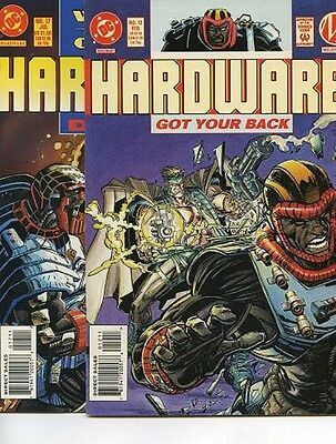 lot of 4 comics Hardware #12, 17, 18, 23 (D.C.)