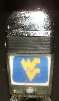 Vintage Scripto Vu-Ligther,University of West Virgina,How 'Bout Them 'EERS!.!!!