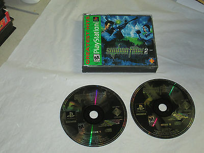 Syphon Filter 2  (Playstation 1, PS1) with case