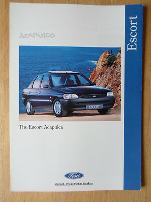 MINI EQUINOX orig 1995 UK Mkt Sales Brochure 5082