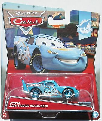++ Disney Pixar Cars, Dinoco Lightning McQueen, Mattel - New 2015 Card