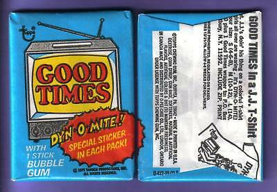 1975 Topps Good Times Trading Card Wax Pack from Original Box!