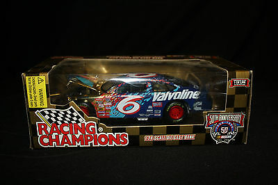 1998 Mark Martin #6 Valvoline 50th Annivers Racing Champions Diecast 1:24 Bank