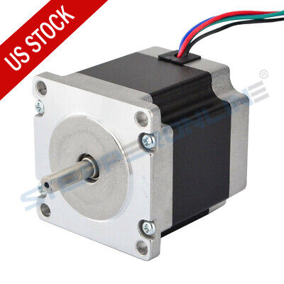 US Ship Nema 23 CNC Stepper Motor 1.26Nm(179oz.in) Bipolar DIY CNC Router Mill
