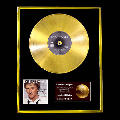 Rod Stewart The Great American Songbook  Cd  Gold Disc Free P+P!!