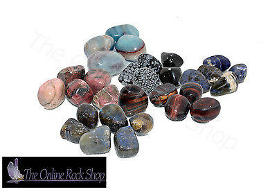 Tumblestones, Crystals, Gemstones, Healing, New Age, Chakra, Reiki, Polished,