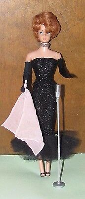 Vtg Stunning Titian Bubble Cut Barbie Nice Clean RedHead Original Solo Spotlight