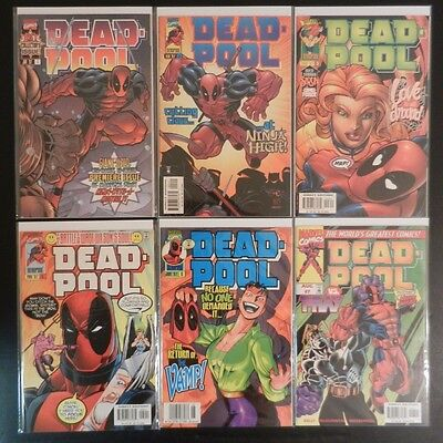 Deadpool (1997 series) - 29 issues - VF/NM condition