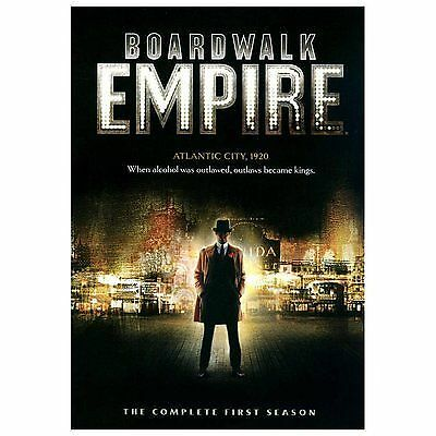 New Sealed Boardwalk Empire - The Complete First Season DVD 1