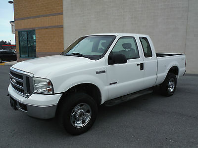 Ford : F-250 XCAB 4X4 2005 ford f 250 xcab 4 x 4 short bed 1 owner lease turn in nice truck