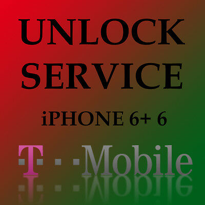 T-Mobile USA Factory Unlock Service iPhone 6+ 6 5S 5C 5 4S ALL IMEI