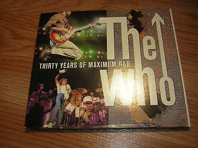 The Who Promo Cd Thirty Years Of Maximum R&b Roger Daltry Pete Townsend