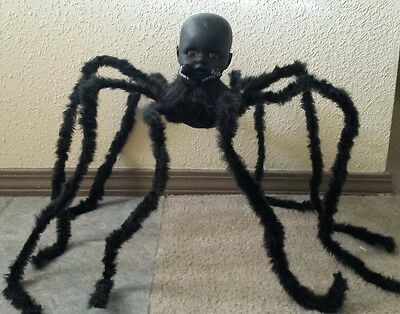 Zombie Baby Spider Doll Halloween Haunted House Horror Prop