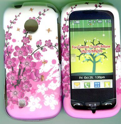 LG Cosmos Touch VN270, MN270 Verizon Case Cover Phone Hard Cover Spring Flowers