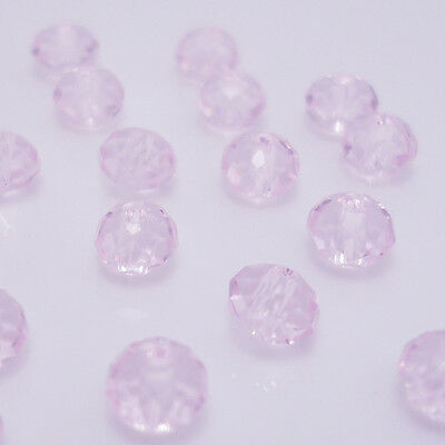 Free shipping 100pcs Swarovski Crystal #5040 4mm Rondelle Beads Y:04