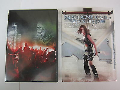 Resident Evil: Apocalypse (DVD, 2004, 2-Disc Set, Special Edition) -  Milla