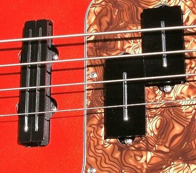 Joe Barden Set for Fender  PJ Bass -  PRECISION P + JAZZ J pickups Made in USA