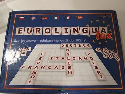 Crossword Learning Game Play 6 Languages Build Words- Eurolingua Lux