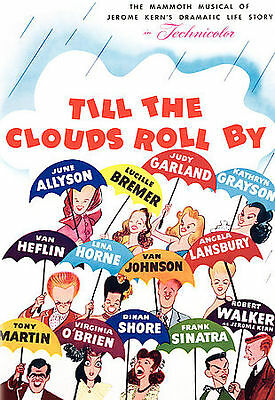 Till the Clouds Roll By (DVD, 2006) JUDY GARLAND FRANK SINATRA TONY MARTIN