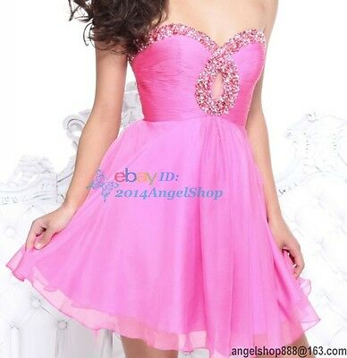 Homecoming Prom short dress Graduation Cocktail Wedding party Stock 6 8 10 12