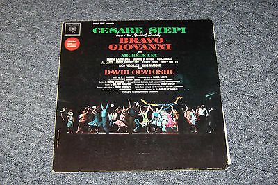Bravo Giovanni / With Michele Lee / Original Cast Recording / Mono Lp / Vg