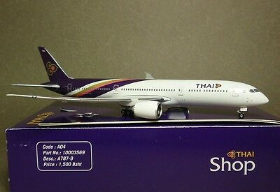 Phoenix 1/400 Thai B787-9 Corporate model with display stand