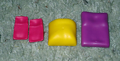 Playmobil Replacement Parts Mattress Blanket Lot Dollhouse Diorama Stroller Bed