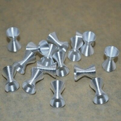 20pcs 9*12MM silver plated Spring Coil Spacer Beads Jewelry Making