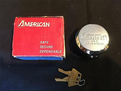 NEW! Rare Find! Vintage American Lock Company Padlock Puck Lock