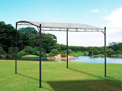 Metal Wall Gazebo Awning Canopy Pergola Shade Marquee Shelter Door Porch