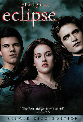 The Twilight Saga: Eclipse (DVD, 2010) BRAND NEW  -  FACTORY SEALED
