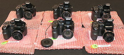 Lot of 6x GE digital cameras X400 X500 - mixed grade lot - Warranty