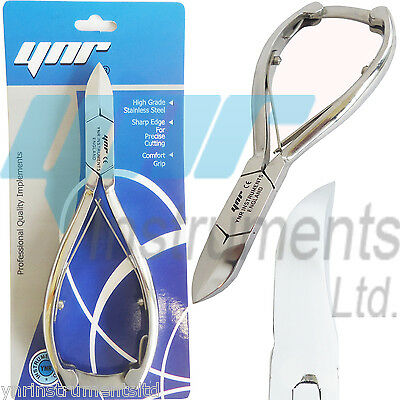 Toe Nail Clippers Nippers Cutter Chiropody Heavy Duty V Thick Fungus Nail Care