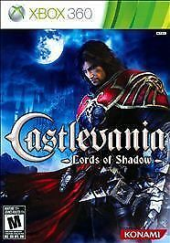 Castlevania: Lords of Shadow Xbox 360 CONSOLE SYSTEM GOOD CONDITION