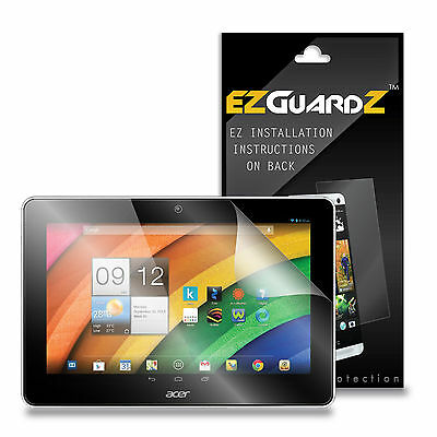 3X EZguardz Screen Protector Shield 3X For Acer Iconia A3-A10 (Ultra Clear)