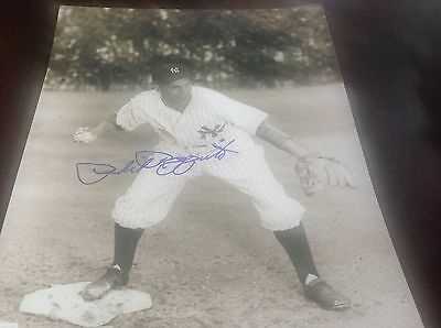 PHIL RIZZUTO NEW YORK YANKEES SIGNED 8X10 SPRING TRAINING PHOTO