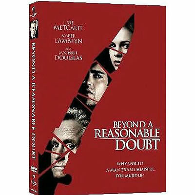 Beyond a Reasonable Doubt (DVD, 2009) Michael Douglas   NEW SEALED