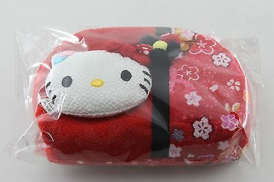 JAPAN ONLY Authentic Hello Kitty Sanrio Porch Purse Case Cute Kawaii Red New